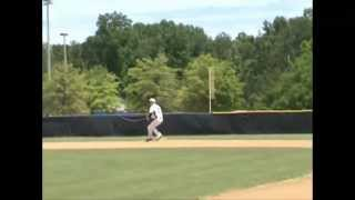 Dalton Ruch Class of 2013 Middle Infielder Baseball Skills Video
