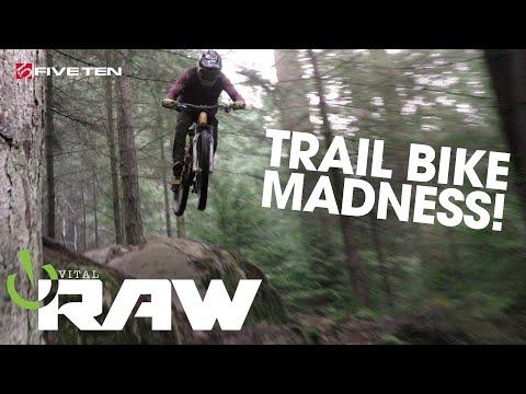 TRAIL BIKE MADNESS! Vital RAW with Elliott Heap