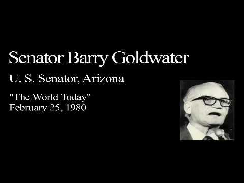 Landon Lecture | Barry Goldwater - audio only