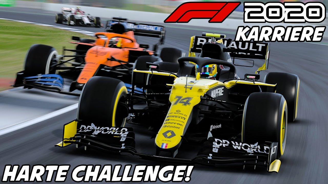 F1 2020 Karriere #12: Das ist 'ne harte Challenge! | Formel 1 2020 Fernando Alonso Gameplay German