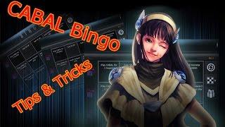 CABAL Bingo tips and tricks