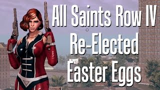 All Saints Row IV: Re-Elected Easter Eggs