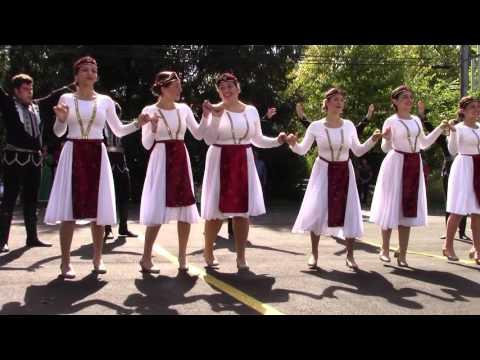 Hamazkayin Arax Dance Ensemble Armenian Food Festival & Bazaar Richmond Heights, Ohio 9 27 15