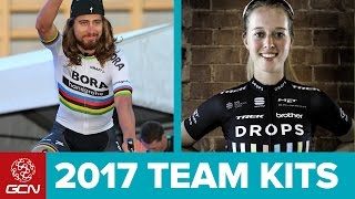 11 Pro Cycling Team Kits You Should Know For 2017