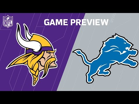 Vikings vs. Lions (Week 12 Preview) | Around the NFL Podcast | NFL