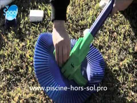 Robot piscine classic vac gre youtube for Robot piscine hors sol cash piscine