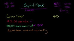 Capital Stock (Common Stock and Preferred Stock)