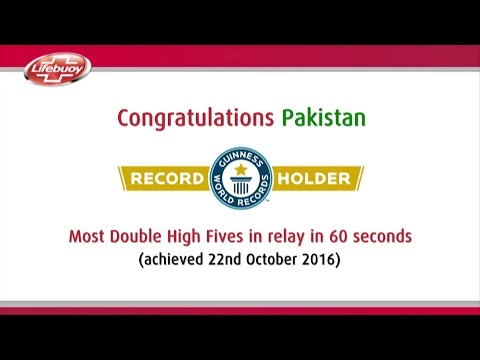 Lifebuoy Guinness World Record