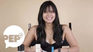 Bianca Umali tried putting on makeup without a mirror and this is what happened thumbnail