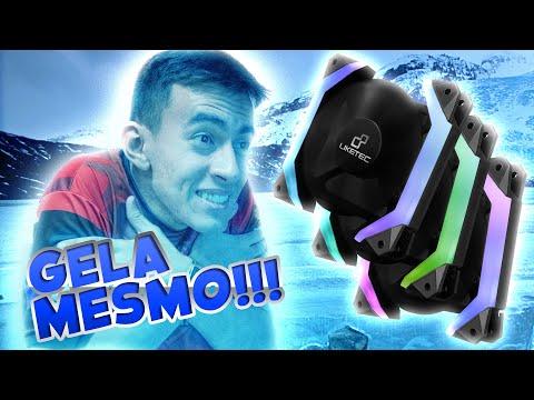 REVIEW - Fantom Liketec, o primeiro Fan Cooler Hexagonal do Brasil!
