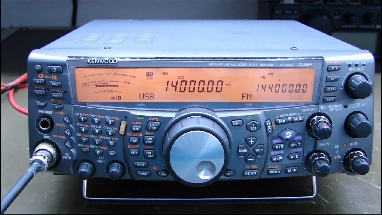 ALPHA TELECOM: KENWOOD TS-2000 POUCA POTÊNCIA EM HF, REVISÃO e ALINHAMENTO
