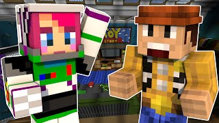 Amy Lightyear! | Toy Story 2 Adventure Map! Part 1 | Minecraft PC | Amy Lee33