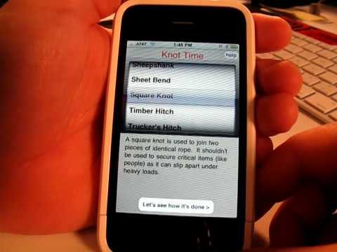 Knot Time iPhone App Review