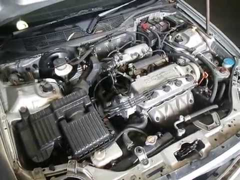 wrecking 1999 honda civic engine 1 6 automatic c14971 youtube. Black Bedroom Furniture Sets. Home Design Ideas