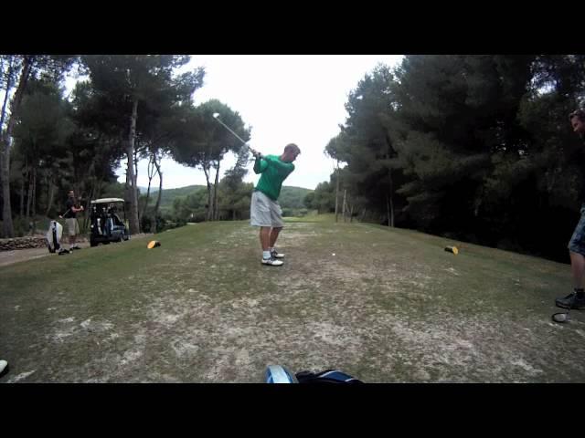 La Manga Golf Ians Stag Do 2011