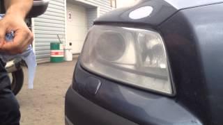Восстановление фар Volvo XC70 за 5 минут без полировки!