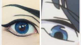 Tutorial : Anime Eye Makeup 113 • Kiryuin Satsuki Thumbnail