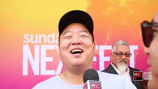 David So of Gook gives a lil teaser of his singing voice during Gook Screening at Sundance NextFest