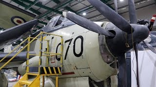 RNAS Yeovilton Cobham Hall Storage & Repair Facility - Propeller Aircraft  2018