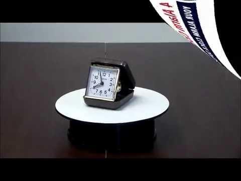 Westclox 44530 Wind Up Travel Alarm Clock Youtube