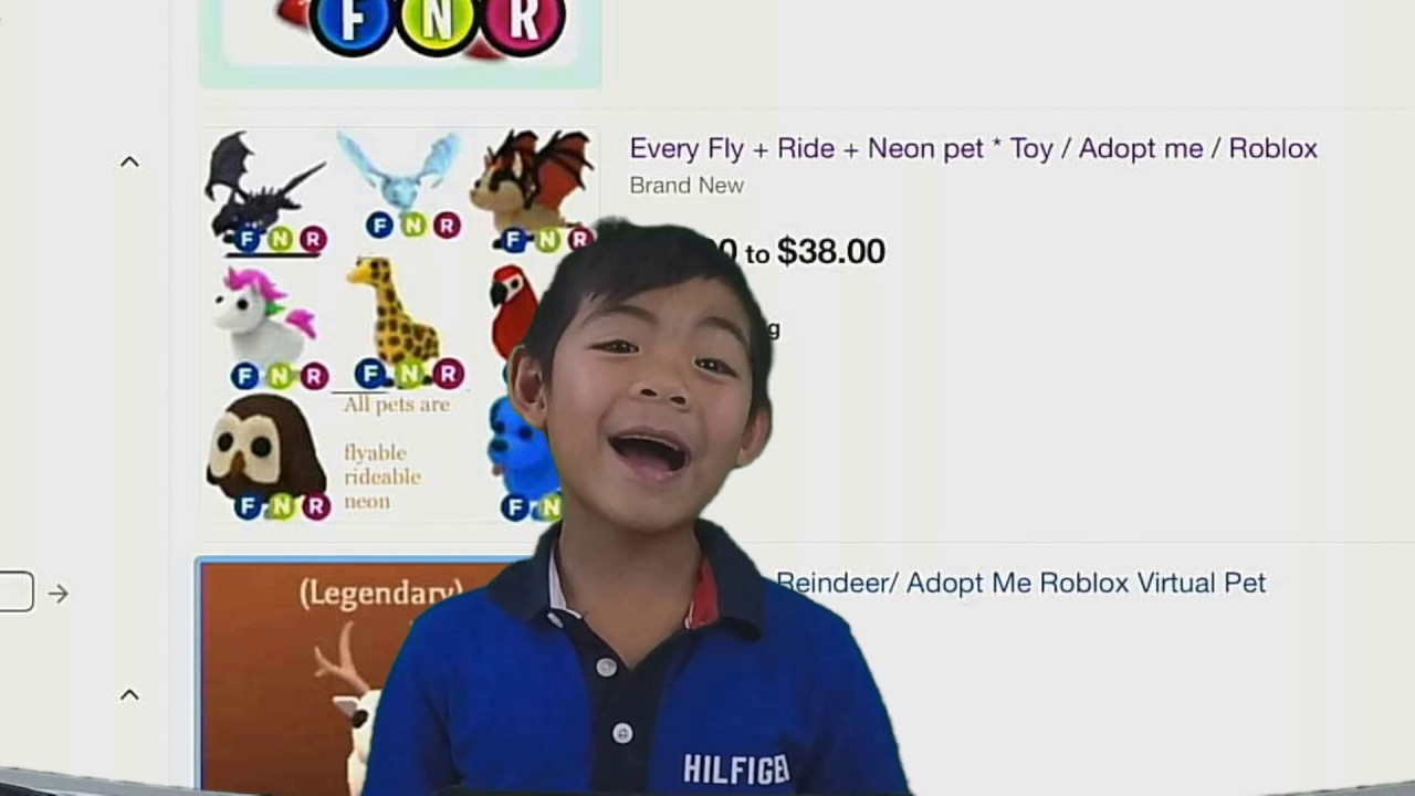 Buying A Roblox Adopt Me Pet From Ebay Youtube