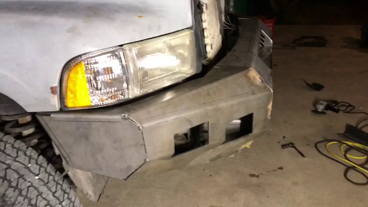 MOVE BUMPER for second gen Dodge Ram 1500 (1994-2001)