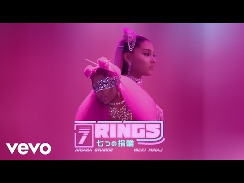 Ariana Grande - 7 rings (feat. Nicki Minaj) [MASHUP]