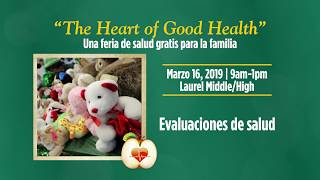 Nanticoke Health Services - The Heart of Good Health - Español