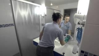 Peilin pyyhintä - mikrokuitupyyhe