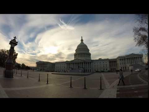 Short Timelapse - United States Capitol