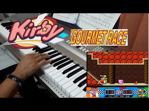 Gourmet Race (Kirby's Dreamland) Keyboard/Piano Arrangement