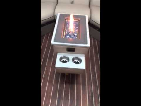 Floating Fire Pontoon/ Portable Fire Pit III - Floating Fire Pontoon/ Portable Fire Pit III - YouTube