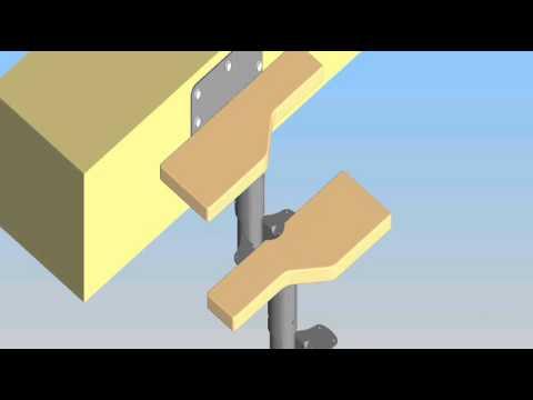 montage mittelholmtreppe york raumspartreppen von trepp. Black Bedroom Furniture Sets. Home Design Ideas