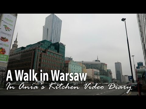 Ania's Video Diary - A Bit of Warsaw - Daily Vlog