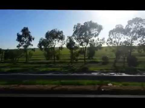 Skybus Trip from Airport to Melbourne city