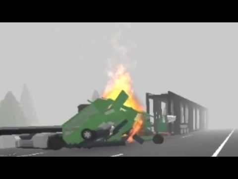 ROBLOX Car Crash Compilation #2 - YouTube