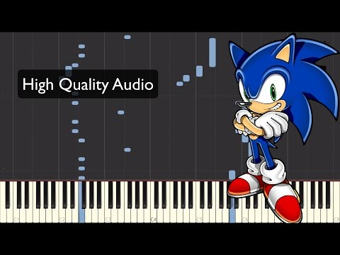 Sonic The Hedgehog Piano Tutorial - Green Hill Zone