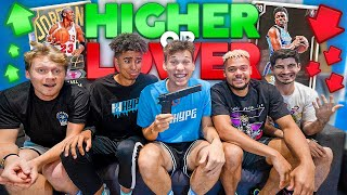 EXTREME Higher Or Lower NBA 2K20 Challenge!
