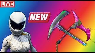 NEW FORTNITE BIKER SKINS AND CHALLENGES!! *LIVE*