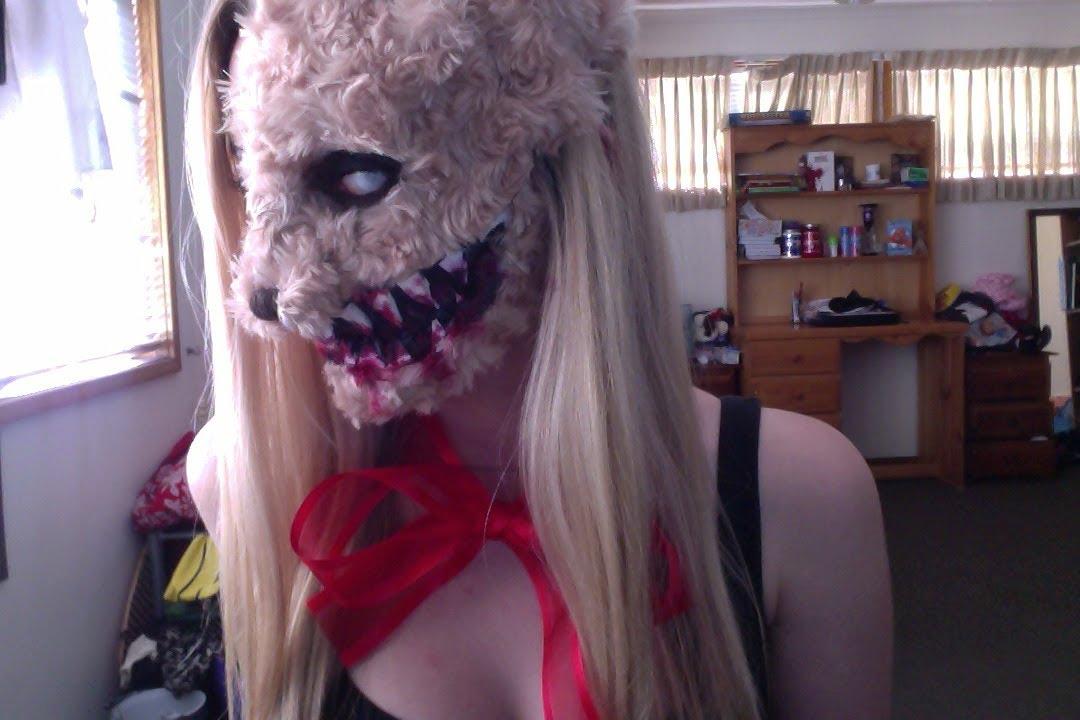 Teddy Bear Girl Halloween Tutorial Youtube