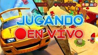 Jugando online en el PSP | Fat Princess & TNT Racers | DIRECTO | HD | luigi2498