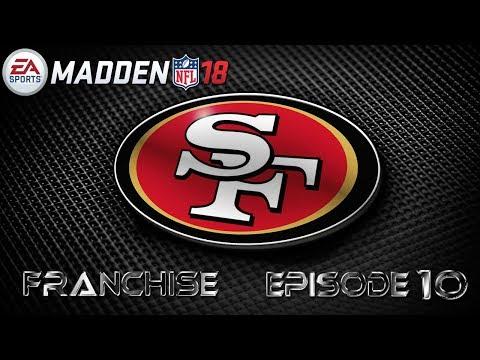 Madden 18 San Francisco 49ers Realistic Rebuild Franchise E10