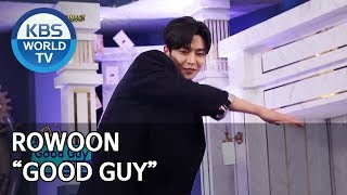 """Rowoon's """"Good Guy"""" performance [Happy Together/2020.01.23]"""