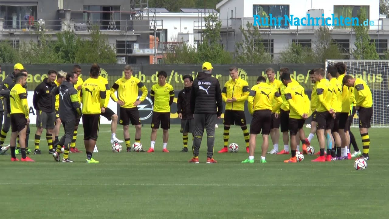 BVB-Training in Brackel am 6. Mai