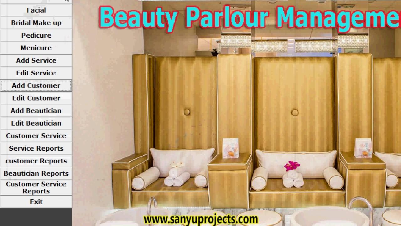 Beauty Parlour Management System Vb6 0 Ms