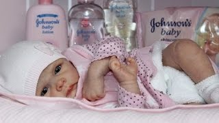 Обложка на видео о Утро с куклой реборн + уход за силикон-виниловым реборном