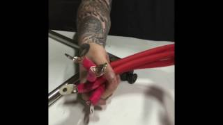 Cuttin' Crimpin' & Whipping up some emergency 1/0 Power Cable - Team Ruckus World Finals