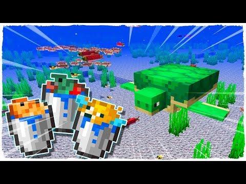 🐠 ¡LOS PECES DE MINECRAFT YA SON MOBS! 🐟 Minecraft 1.13 Actualización acuática 🐡 Snapshot 18w08b
