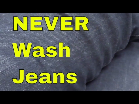You NEVER Have To Wash Jeans Again