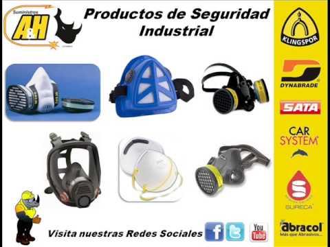 Equipos de seguridad industrial mascarillas caretas conos - Guantes de seguridad ...